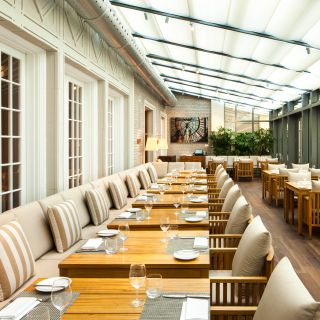A photo of Maison Boulud restaurant