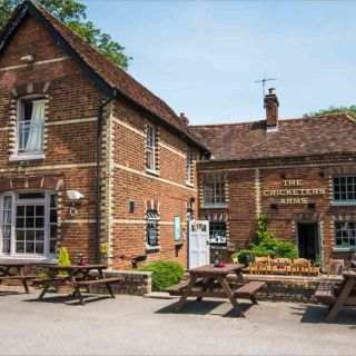 The Cricketers Arms in Rickling Green