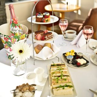 Afternoon Tea at La Mon Hotel and Country Club