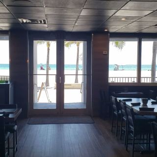 A photo of Alvin's on the beach.,LLC restaurant