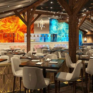 A photo of Gordon Ramsay Hell's Kitchen - Lake Tahoe Harveys Resort Hotel & Casino restaurant
