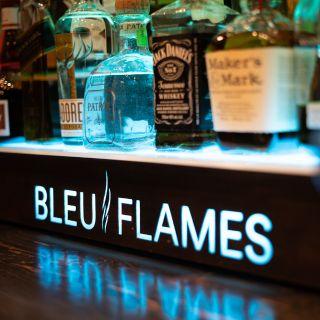Bleu Flames
