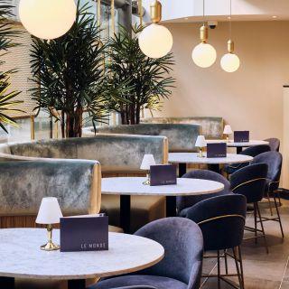 A photo of Le Monde restaurant