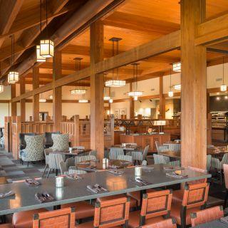 A photo of Cascade Room - Skamania Lodge restaurant