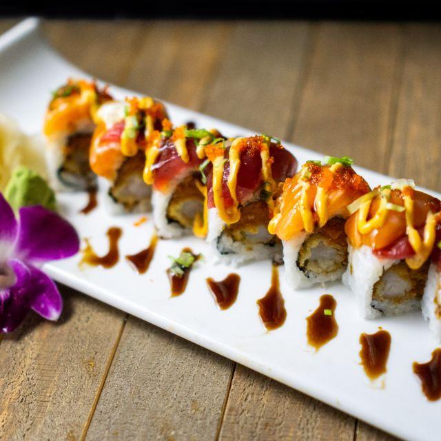 Khao Thai Sushi Restaurant Scottsdale Az Opentable View sushi station menu, order sushi food pick up online from sushi station, best sushi in phoenix, az. opentable