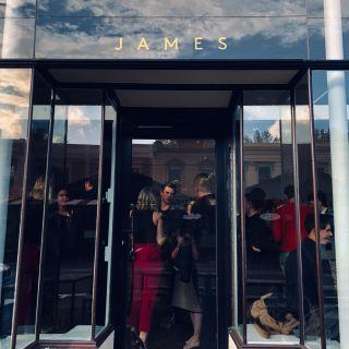 A photo of JAMES restaurant