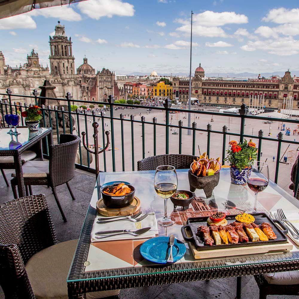 La Terraza Gran Hotel Ciudad De Mexico Restaurant Mexico