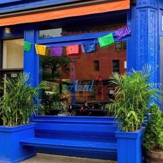 Una foto del restaurante Casa Azul