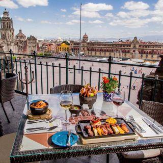A photo of La Terraza - Gran Hotel Ciudad de Mexico restaurant