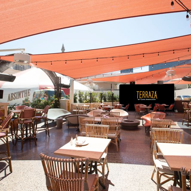 Terraza By Cafe Americano Restaurant Las Vegas Nv Opentable