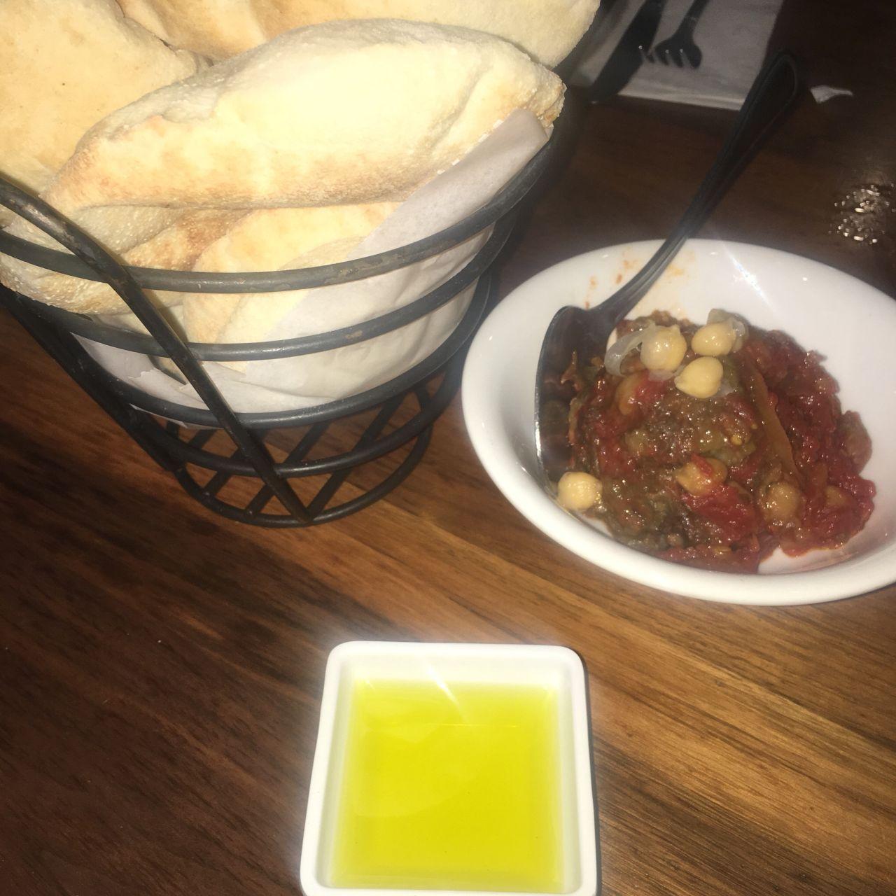 Cuisine Blanc Gris Violet lebanese taverna - washington dc restaurant - washington, dc