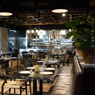 Una foto del restaurante Great American Steakhouse - Airway