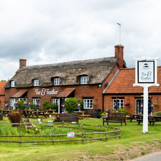 A photo of Woodforde's Brewery Tap at The Fur & Feather Inn restaurant