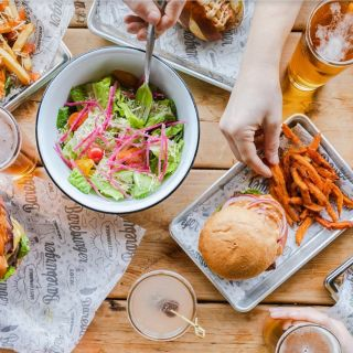 A photo of Bareburger - Forest Hills restaurant