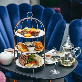 A photo of Afternoon Tea in the Green Room restaurant