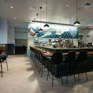 A photo of Bamboo Sushi - University Village restaurant