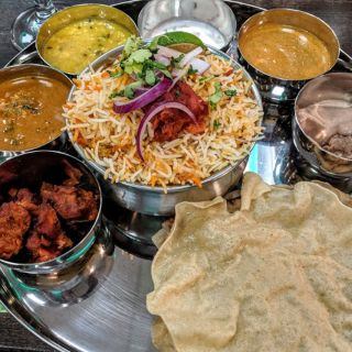 A photo of Bawarchi Indian Cuisine - Little Rock restaurant