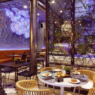 Una foto del restaurante El Jardín del edén