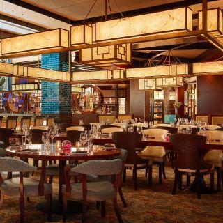 A photo of Mystique restaurant