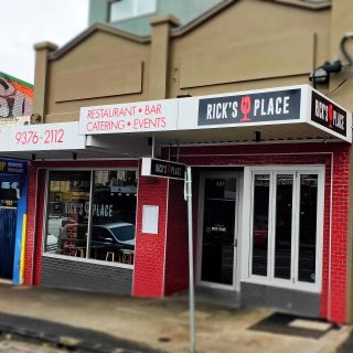 A photo of Rick's Place restaurant