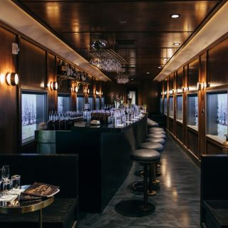 A photo of The Train on Platform 18 - Cocktails Only restaurant