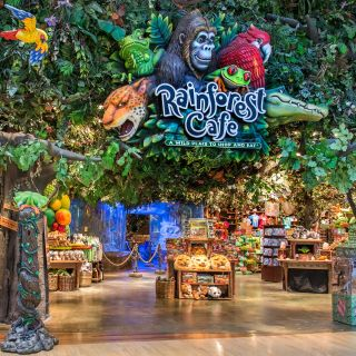 A photo of Rainforest Cafe - Ontario Mills restaurant
