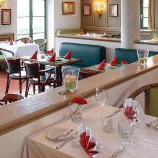 Una foto del restaurante Zur Schießstätte Restaurant und Biergarten