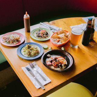 A photo of Los Cuervos Taqueria restaurant