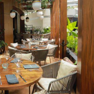 Una foto del restaurante Porfirio's - Puebla
