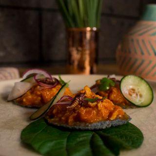 Una foto del restaurante Scamol, Gastronomía de México