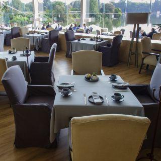 A photo of El Lago restaurant