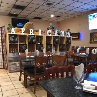 A photo of Africana Bbq Curries Drinks restaurant