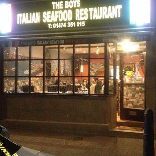 A photo of The Boys Italian restaurant