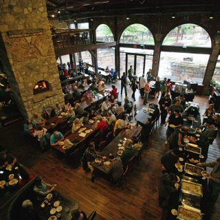 A photo of Two Brothers Roundhouse restaurant