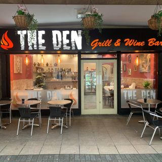 A photo of The Den Grill and Wine Bar restaurant