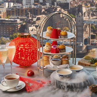 A photo of Afternoon Tea at Ting, Shangri-La At The Shard restaurant