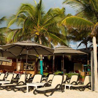 Una foto del restaurante INTI Beach