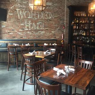 A photo of Worden Hall restaurant