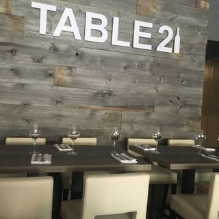 A photo of Table 21 Kitchen & Wine Bar restaurant
