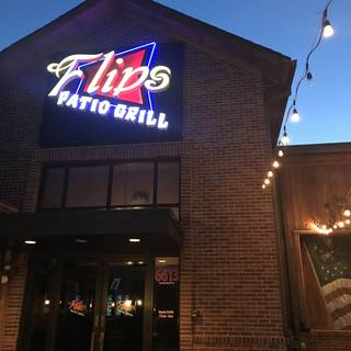 A photo of Flip's Patio Grill - Fort Worth restaurant