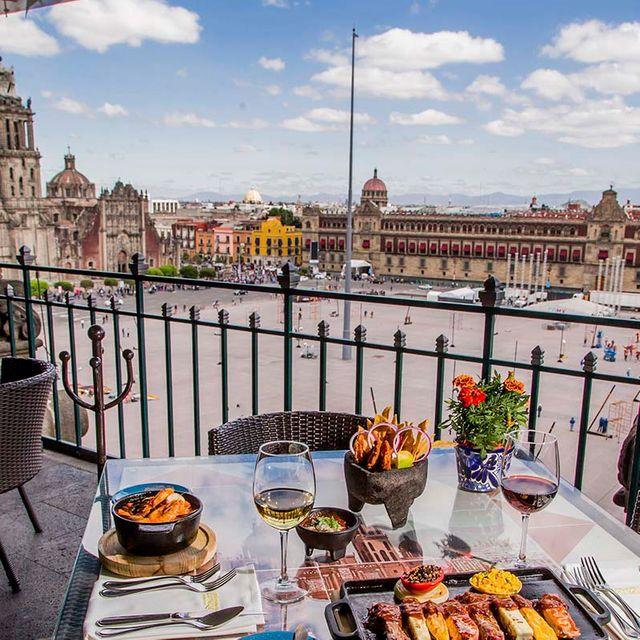 La Terraza Gran Hotel Ciudad De Mexico Restaurante Ciudad De Mexico Cdmx Opentable