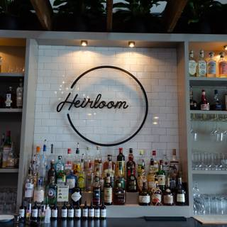 A photo of Heirloom restaurant