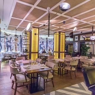Una foto del restaurante Café Montesol by Sagardi