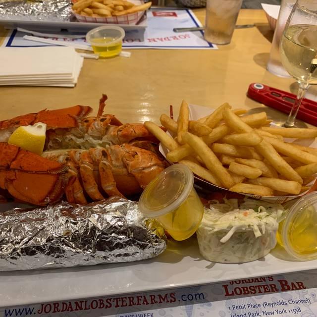 Jordan Lobster Farms Restaurant Island Park Ny Opentable