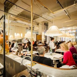 A photo of Manzo Ristorante - Eataly NYC Flatiron restaurant