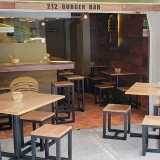A photo of 212 Burger Bar restaurant