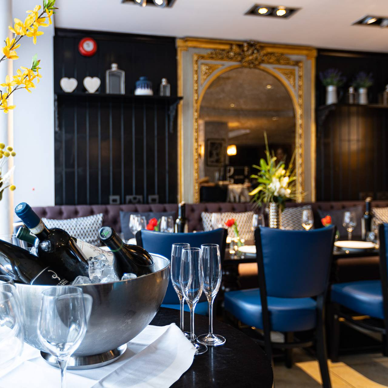 Decoration Sous Sol 2015 il baretto wine bar and restaurant - london, | opentable
