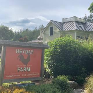 A photo of Heyday Farm House restaurant