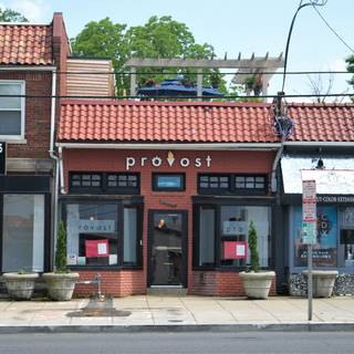 A photo of Provost restaurant