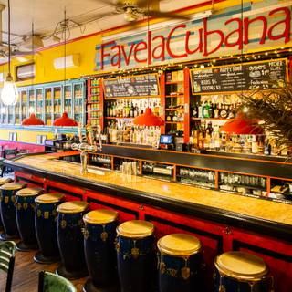 A photo of Favela Cubana restaurant